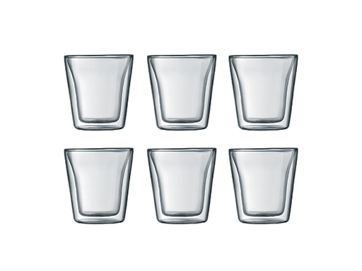 Bodom Set of 6 Canteen Glasses