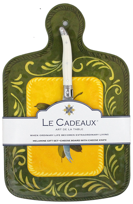 Le Cadeaux Cheeseboard with Knife