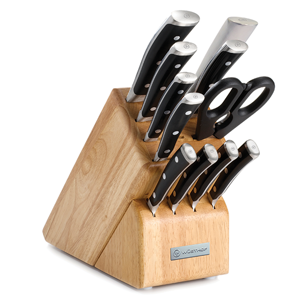 Wusthof Classic Ikon 12 Piece Knife Block Set