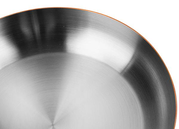 "Mauviel M'Heritage M'150s 10.2"" Copper Fry Pan With Stainless Steel Handle"