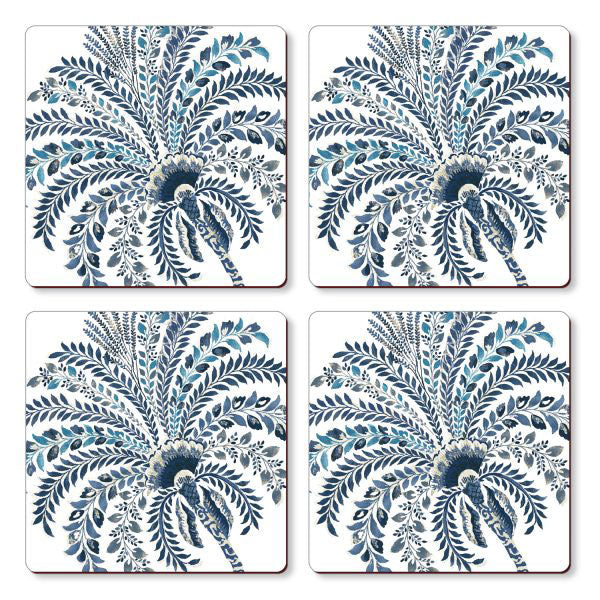Cala Home Set of 4 Corkback Coasters