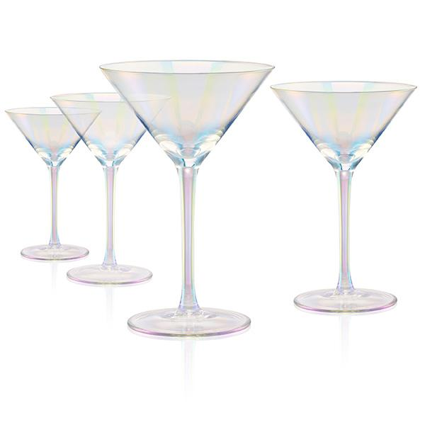 Artland Luster Clear Martini Glass