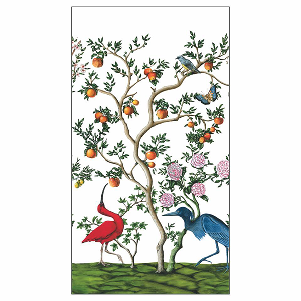 Bird & Branch Chinoiserie Paper Guest Towels