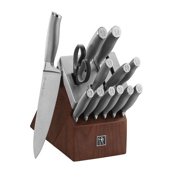Henckels International Modernist Self-Sharpening Knife Block Set