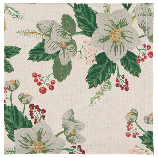 Now Designs Set of 4 Winterblossom Napkins