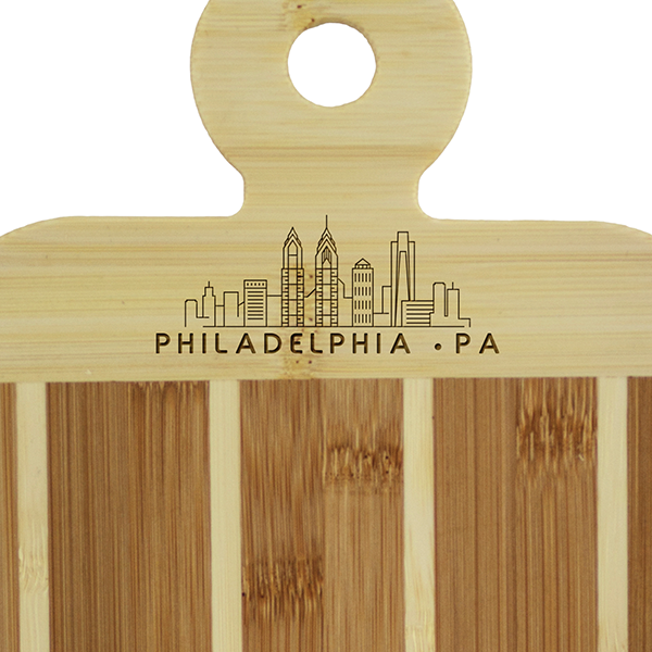 Totally Bamboo Philly Serving Paddle