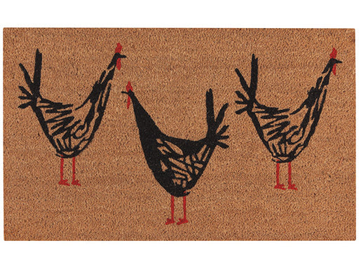 Now Designs Chicken Scratch Doormat