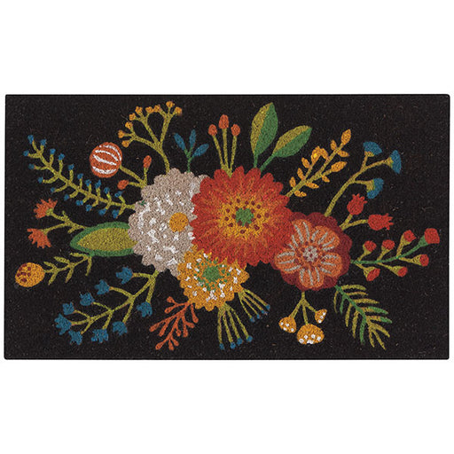 Golden Bloom Doormat