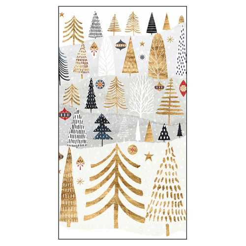 Mountain Forest Paper Guest Napkins