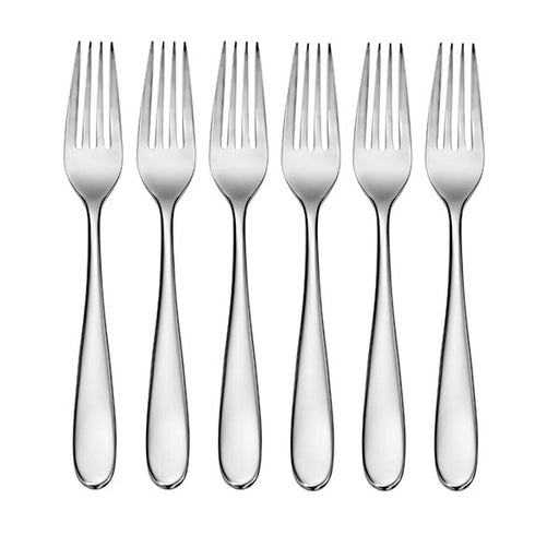 CraftKitchen Set of 6 Classic Dinner Forks