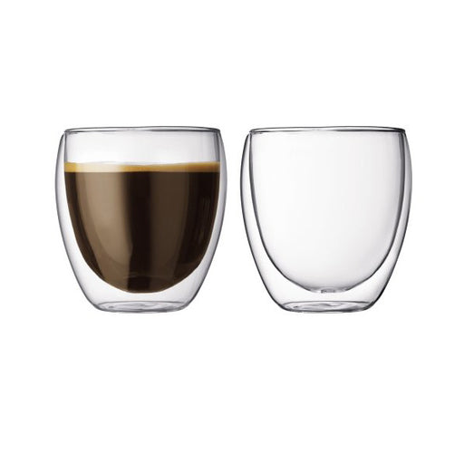 Bodum Set of 2 Pavina Cappuccino Glasses