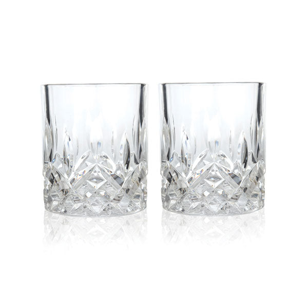 Set of 2 Admiral Crystal Liquor Tumbler