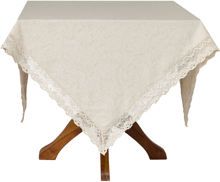 April Cornell Jacquard Linen Tablecloth