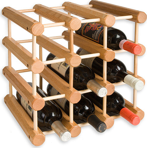 J.K. Adams Natural Wood Wine Rack