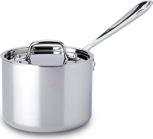 All Clad Stainless Steel Sauce Pan