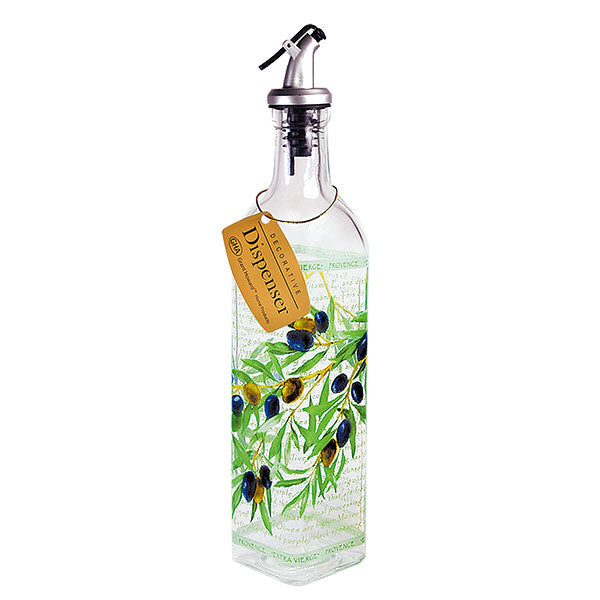 Olive Branch Oil Bottle