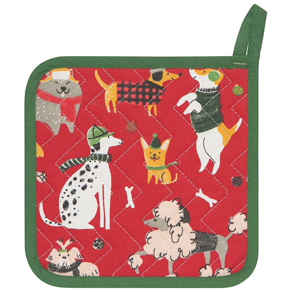 Now Designs Yule Dogs Potholder