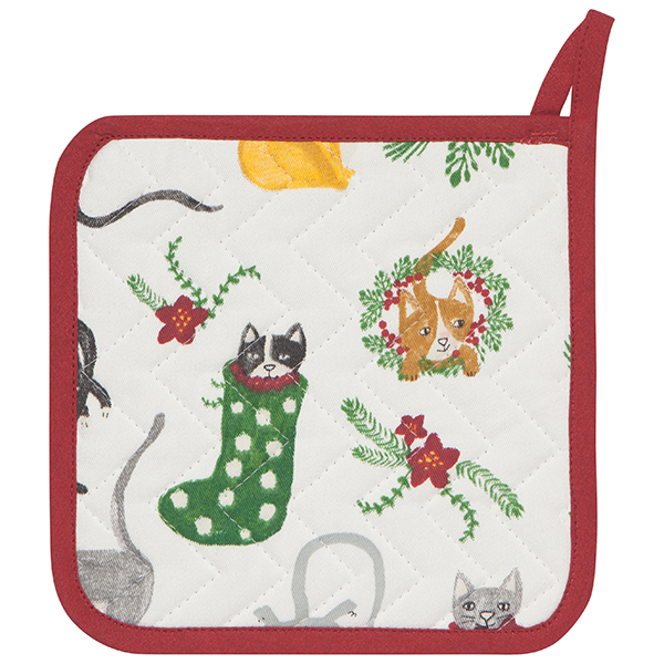 Now Designs Meowy Christmas Potholder