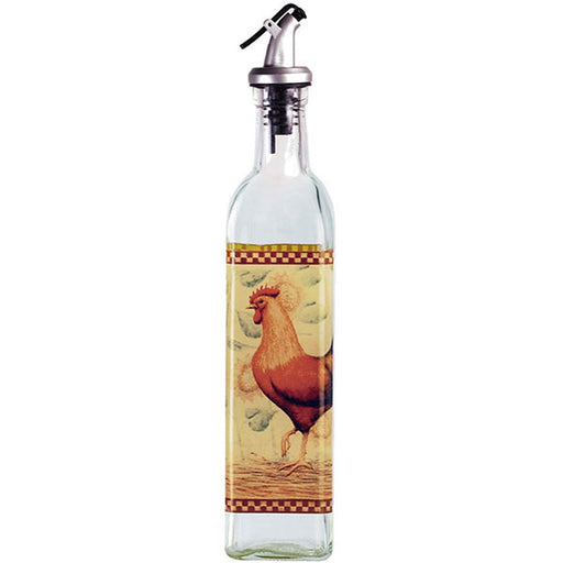 Rooster Oil Bottle