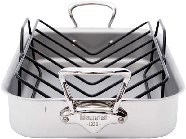 Mauviel M'Cook Stainless Steel Roasting Pan