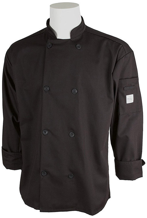 Mercer Unisex Black Chef's Jacket