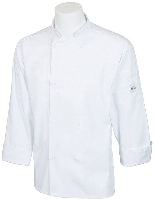 Mercer Unisex White Chef's Jacket