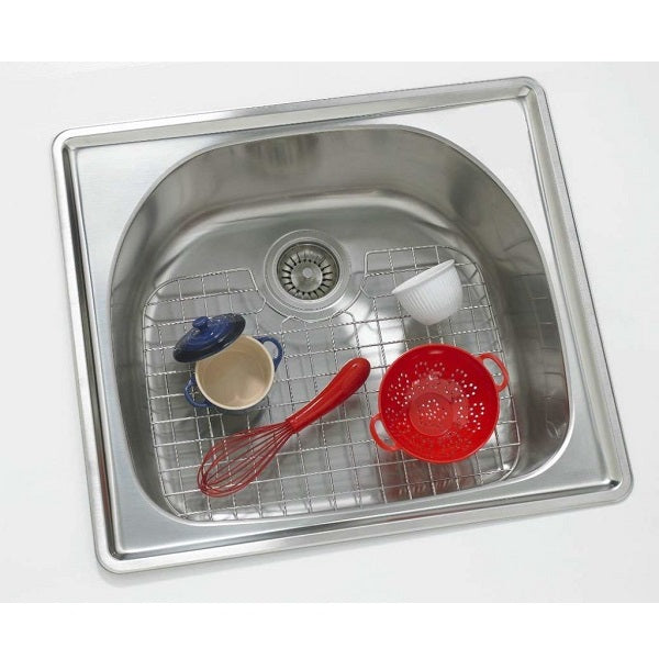 D-Shaped Stainless Steel Sink Protector