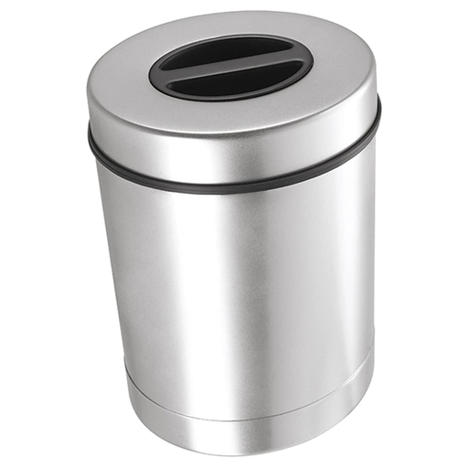 OGGI Stainless Steel Coffee Canister with Filter Holder