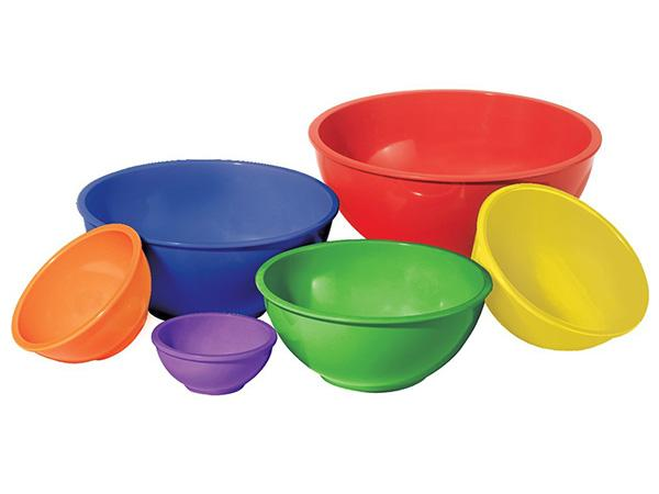 Oggi 6 Piece Melamine Bowl Set