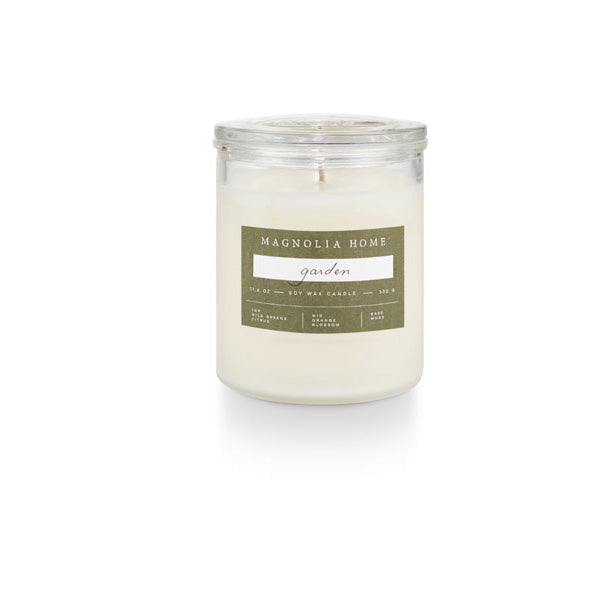 Magnolia Home Glass Jar Candle
