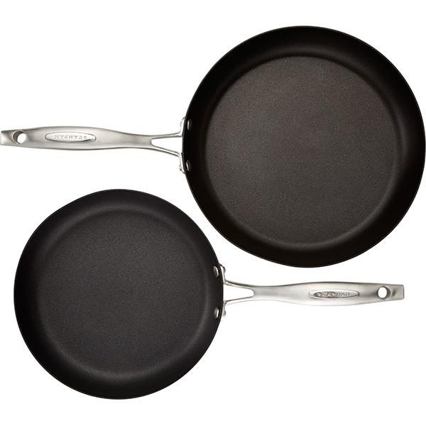 "Scanpan Pro IQ 9.5"" & 11"" Nonstick Fry Pan Set"