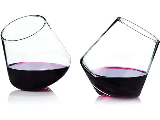 Rolling Wine Glass Set