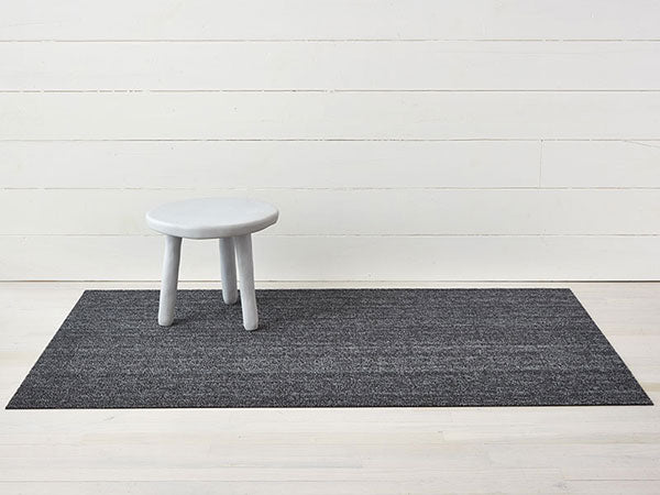 Chilewich Heathered Shag Rug in Grey