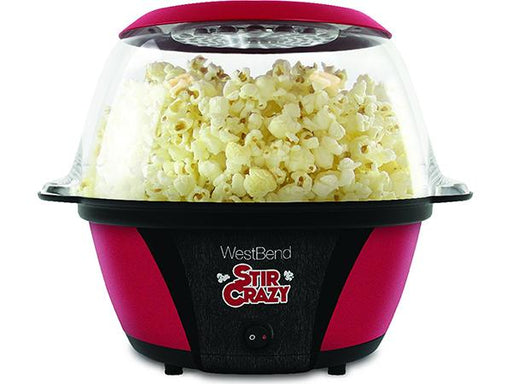 West Bend Stir Crazy Popcorn Popper Red