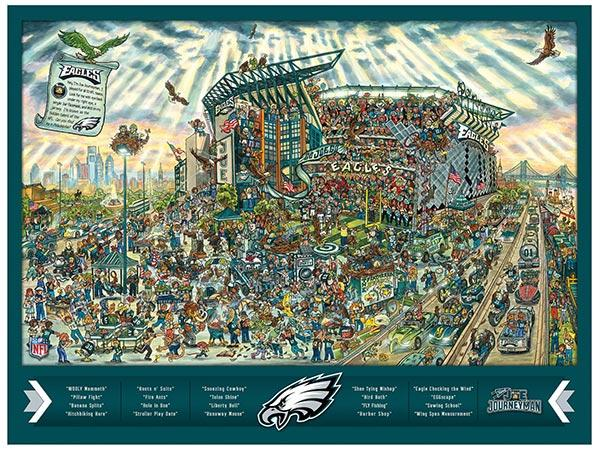 Philadelphia Eagles 500 Piece Puzzle