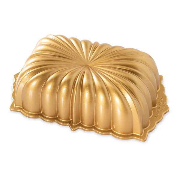 Nordicware Gold Classic Fluted Loaf Pan