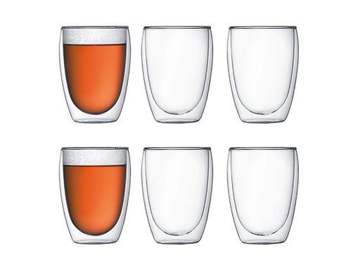 Bodum Set of 6 Pavina 12 oz Glasses