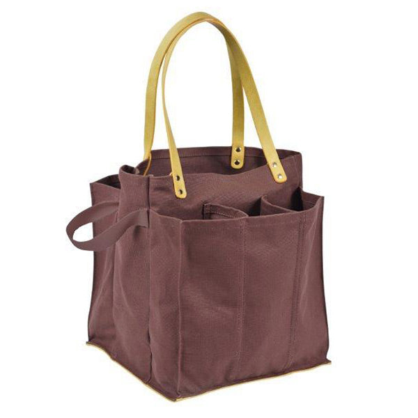 Capabunga Multi-Pocket Canvas Market Tote