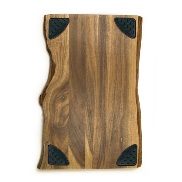 "Architec 11"" x 17"" Raw Edge Acacia Gripperwood Cutting Board"