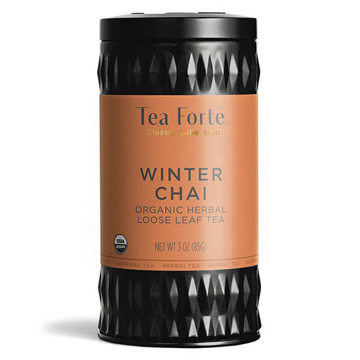 Tea Forte Winter Chai Loose Tea Canister