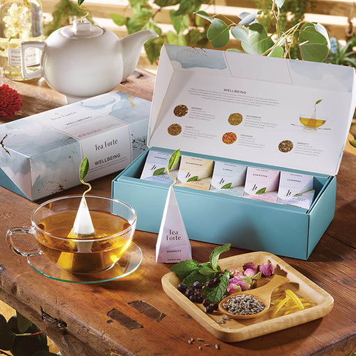 Tea Forte Wellbeing Petite Gift Box Assortment