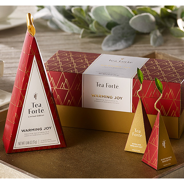 Tea Forte Warming Joy Petite Tea Tree Sampler