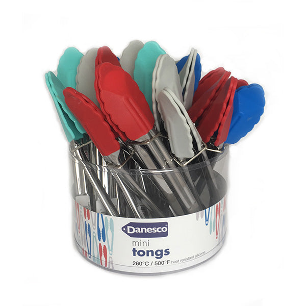 Mini Tongs- Assorted Colors