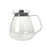 GLASS CARAFE WITH LID