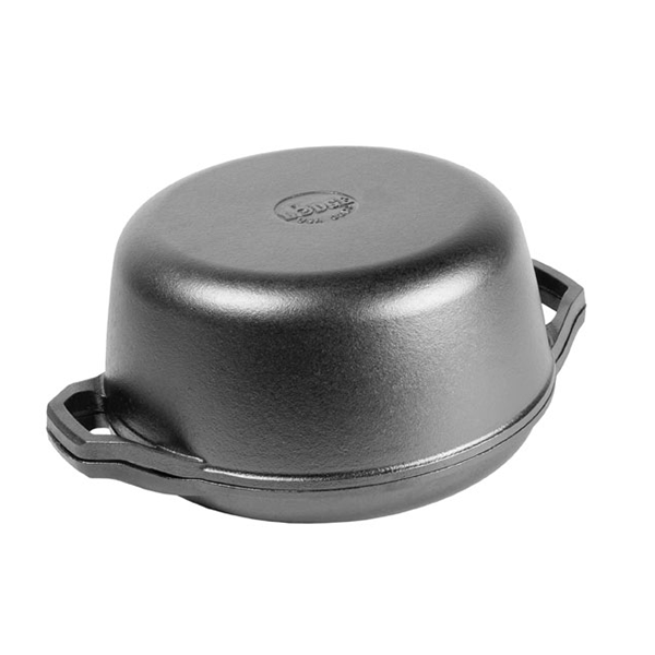 Lodge 6 Quart Double Dutch Oven - Chef Collection