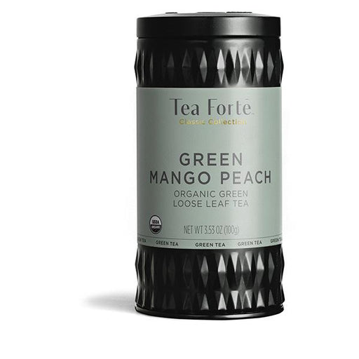 Tea Forte Green Mango Peach Loose Tea Canister