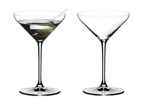 Riedel Set of 2 Extreme Martini Glasses