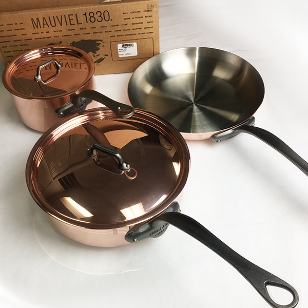 Mauviel M150C Copper 5 Piece Set USED