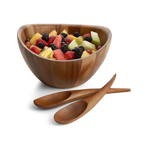 Nambe Harmony 3 Piece Salad Set