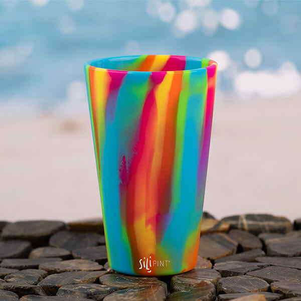 16 oz Hippie Hops Silicone Cup